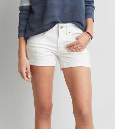 AEO Denim Midi Short