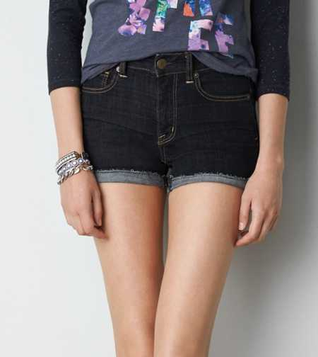 AE High-Rise Denim Shortie - Buy One Get One 50% Off