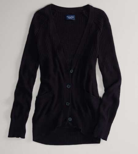 AE Solid Girlfriend Cardigan