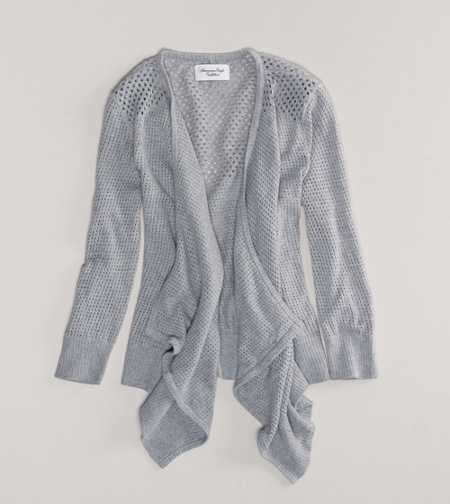 AE Open Stitch Cardigan