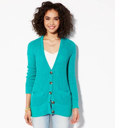 Seagrass AE Ribbed Cardigan