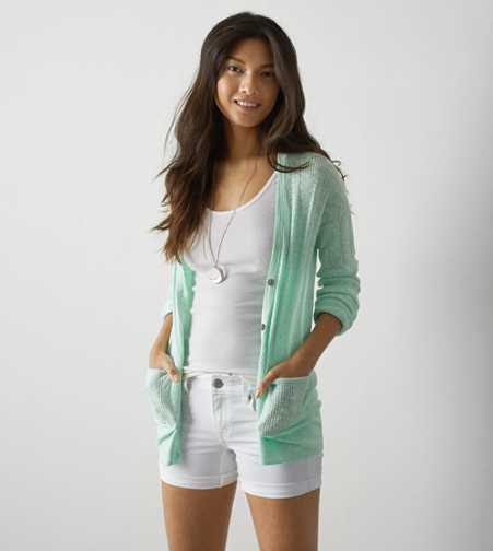 AEO Real Soft® Ribbed Knit Cardigan - Buy One Get One 50% Off