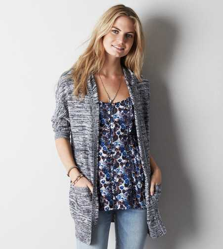 AE Hooded Dolman Cardigan - Buy One Get One 50% Off