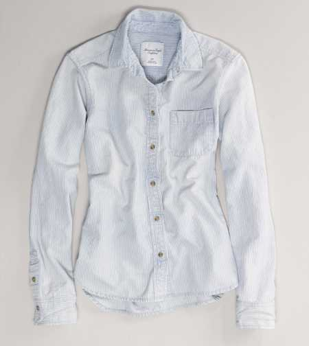 AE Railroad Denim Shirt