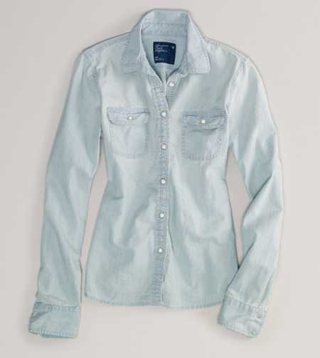 AE Light Denim Shirt