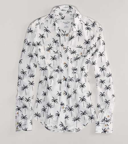 AE Palm Tree Shirt
