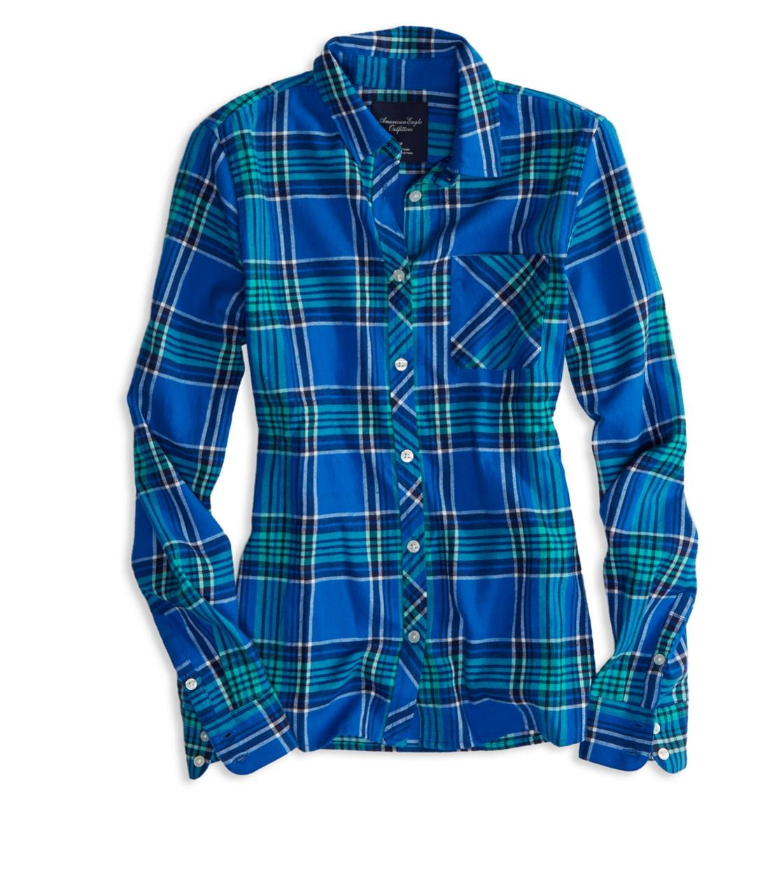 Blue AE Real Soft Epic Flannel Shirt