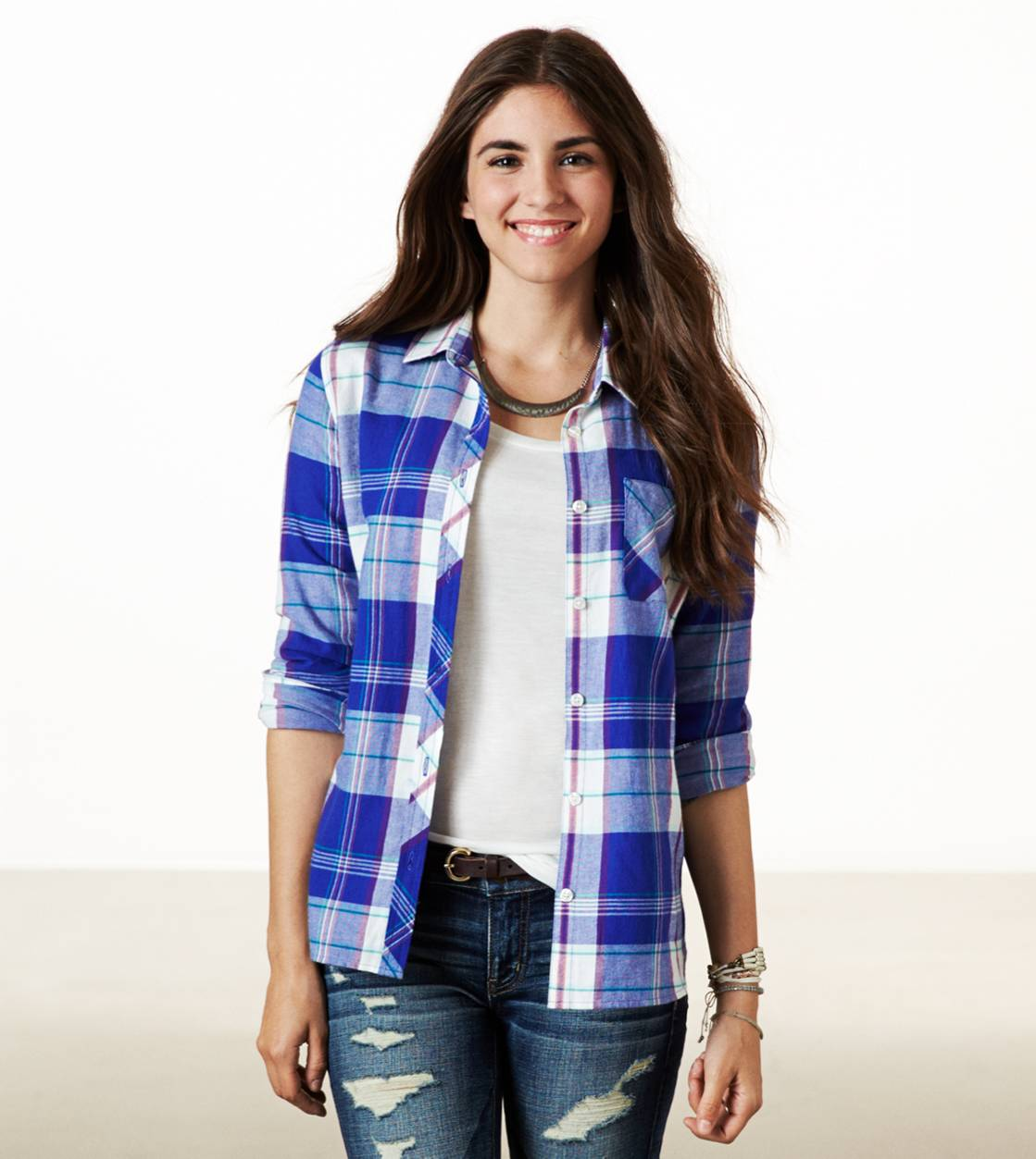Violet Indigo AE Real Soft Epic Flannel Shirt