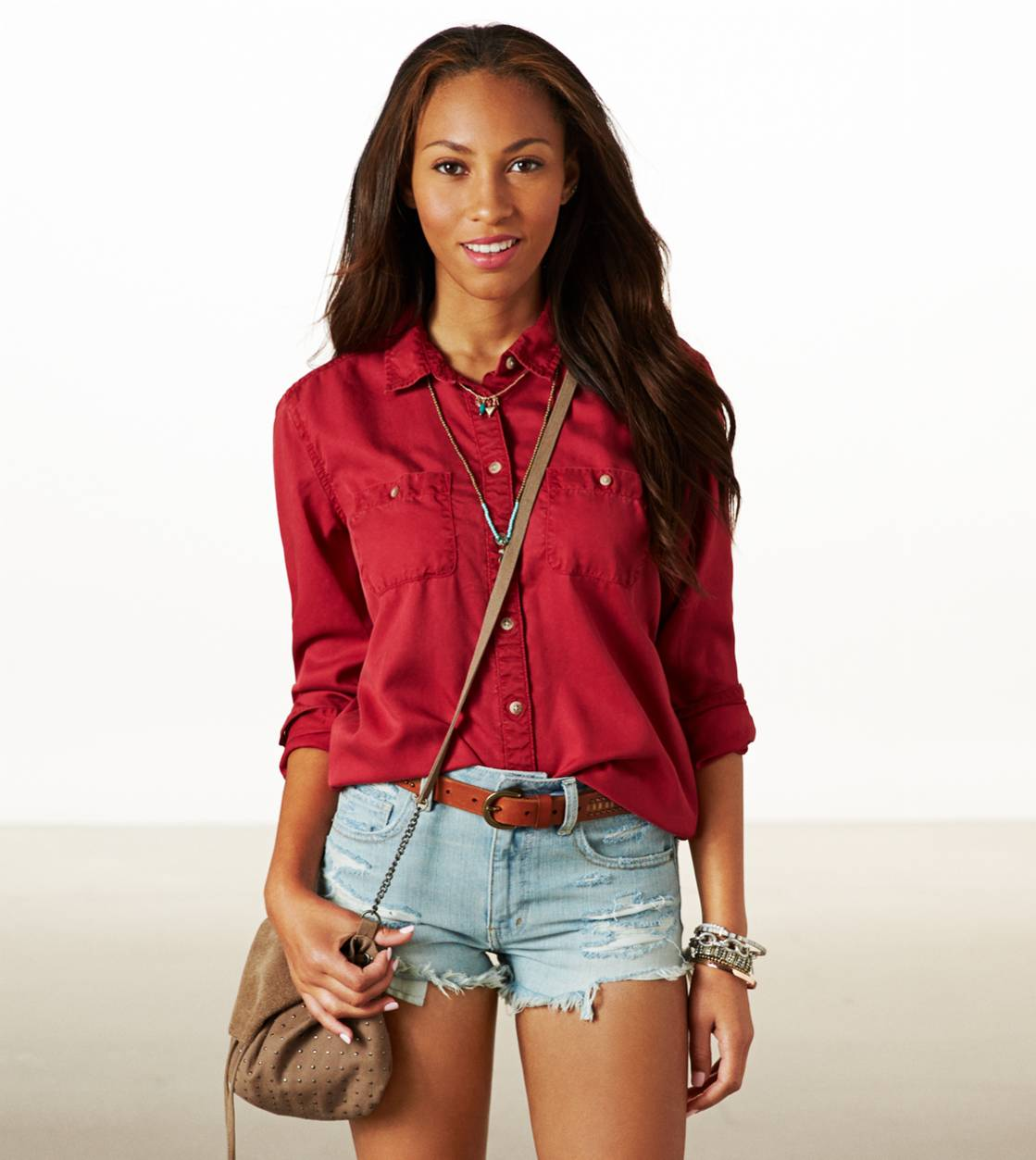 Rust AE Weekender Button Down