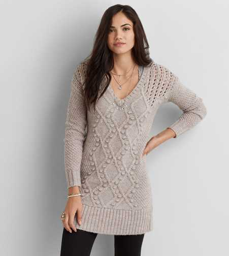 AEO Cable Knit Sweater Dress