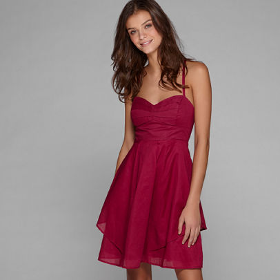 Women's AE Pleated Party Dress - American Eagle Outfitters