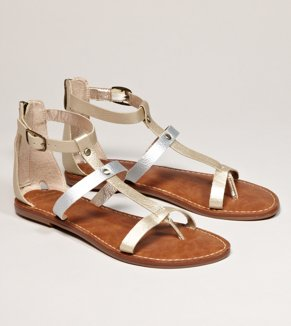 Sam Edelman for AEO Metallic Gladiator - Buy One Get One 50% Off