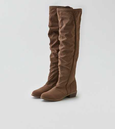 AEO Suede Over The Knee Boot