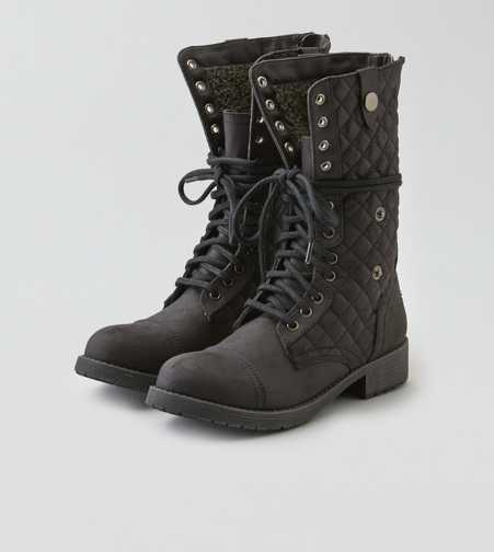 AEO Lace-up Quilted Boot