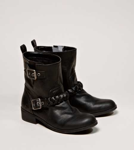 AEO Braided Motorcycle Bootie