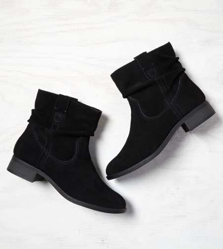 AEO Slouchy Suede Bootie - Buy One Get One 50% Off & Free Shipping