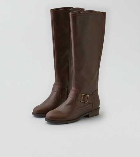AEO Buckled Riding Boot