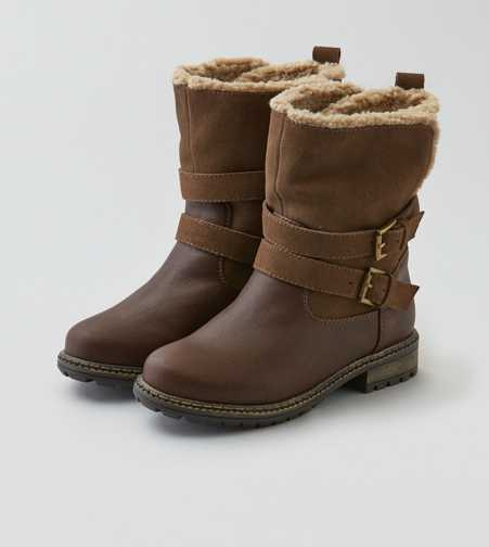 AEO Lined Buckled Boot
