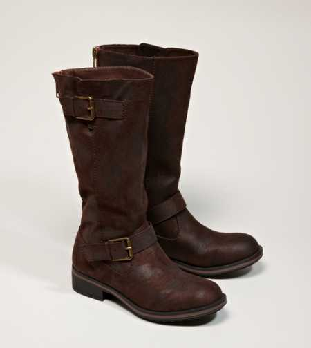 AEO Zipped Buckle Boot