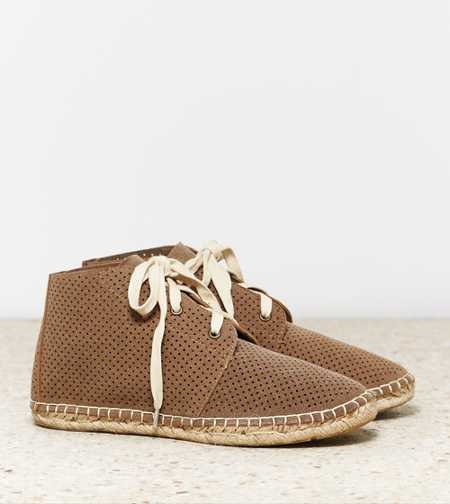 AEO Perforated Desert Bootie