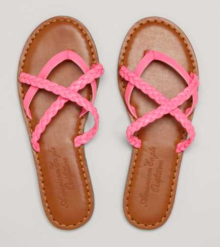 AEO Braided Slide - Free Shipping On Shoes