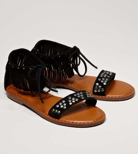 AEO Studded Fringe Sandal - Buy One Get One 50% Off