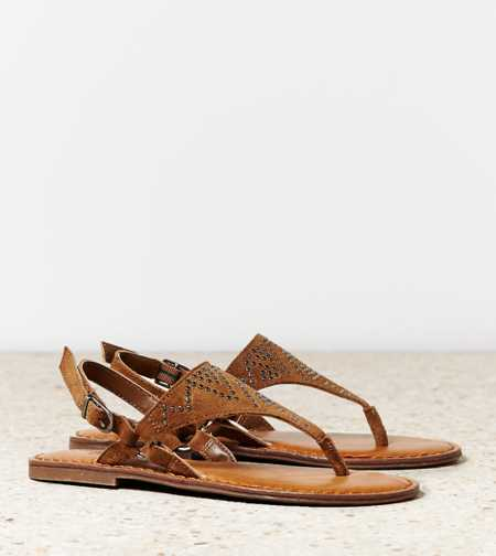 AEO Studded Slingback Sandal - Free Shipping On Shoes