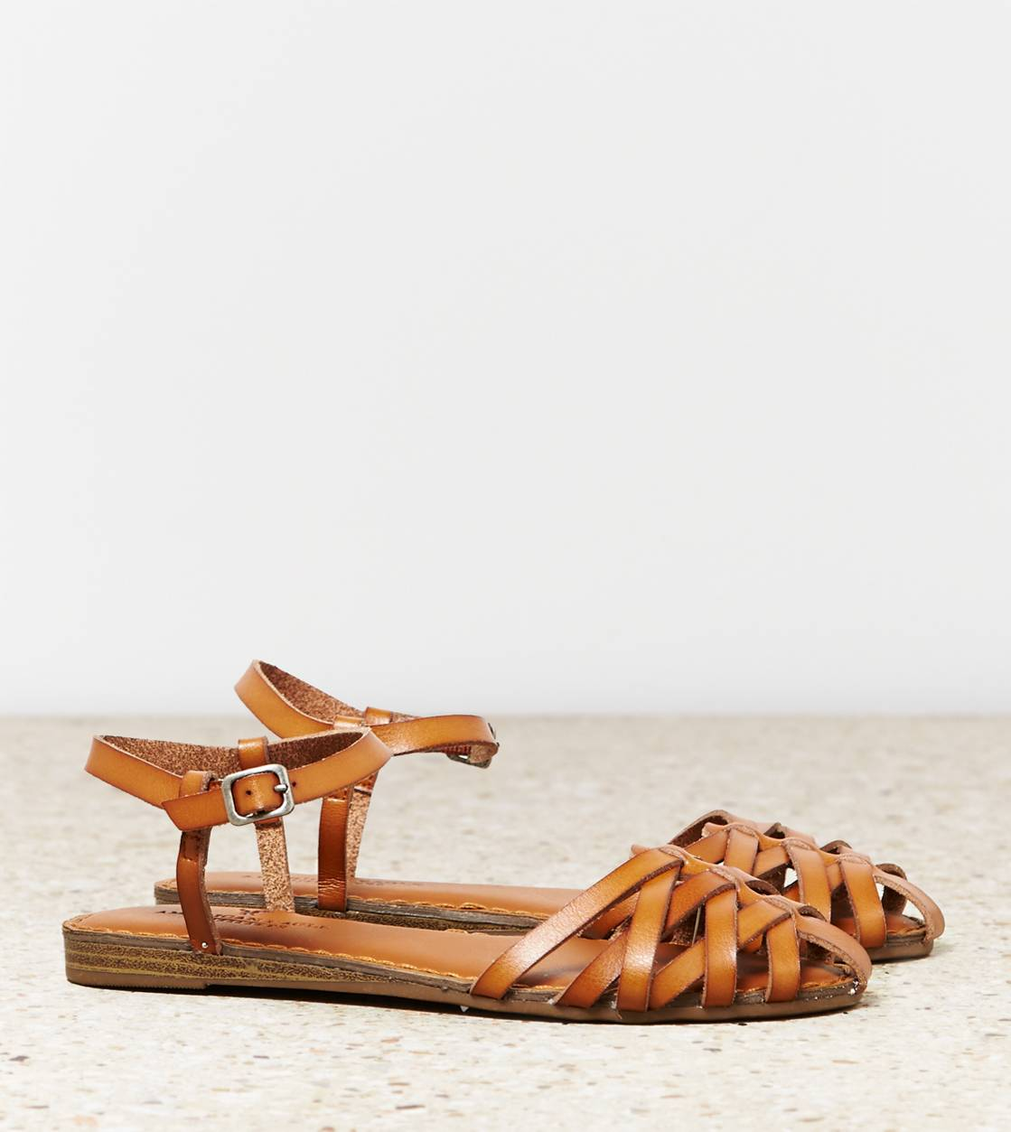 Tan AEO Fisherman Sandal