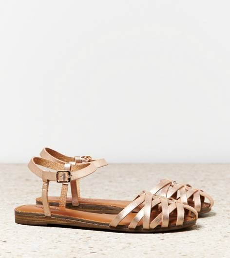 Rose Gold AEO Fisherman Sandal