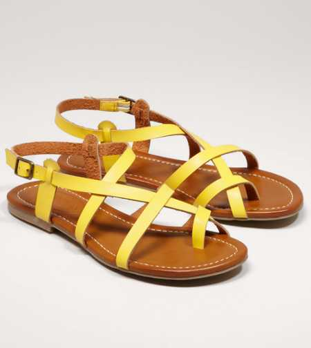 AEO Criss-Cross Sandal - Free Shipping On Shoes