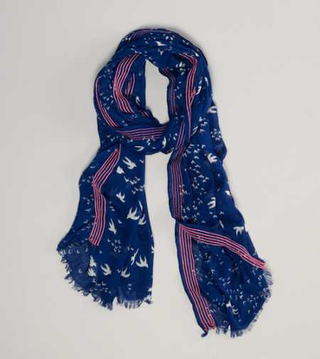 AEO Flying Birds Scarf