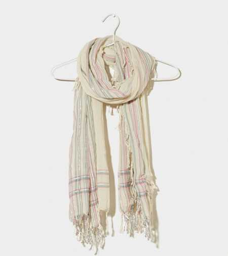 AEO Striped Scarf