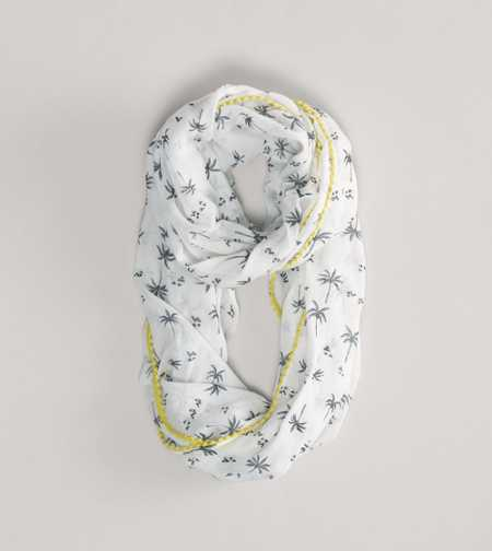 AEO Palm Tree Loop Scarf