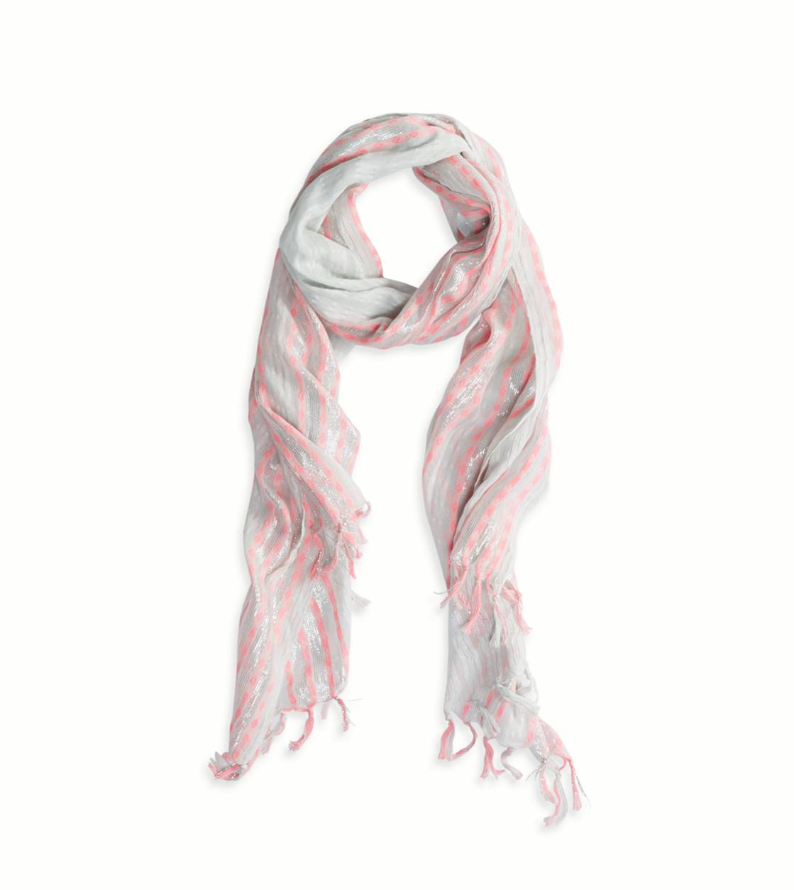 Ocean Air AEO Shine Striped Scarf