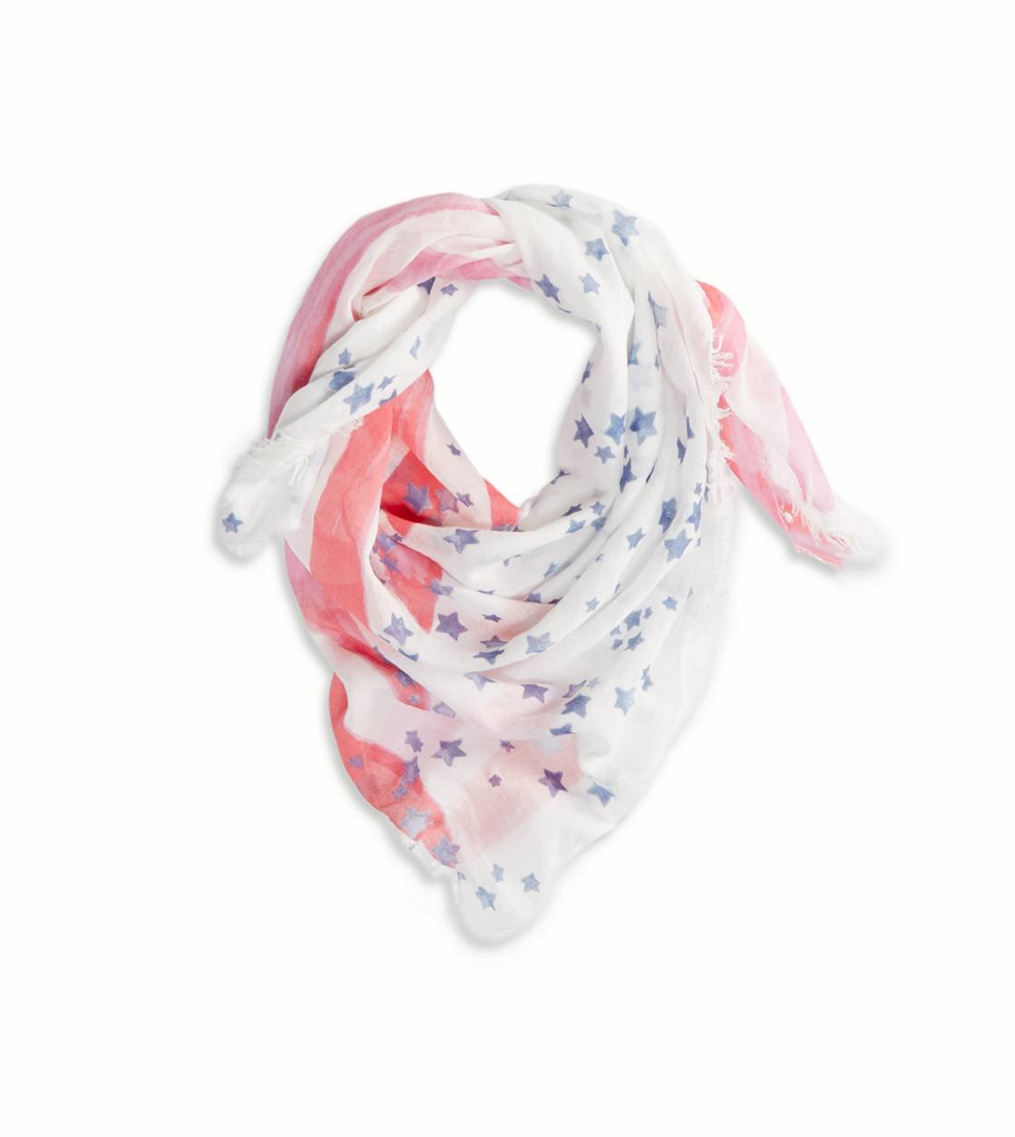 Chalk AEO Stars & Stripes Scarf