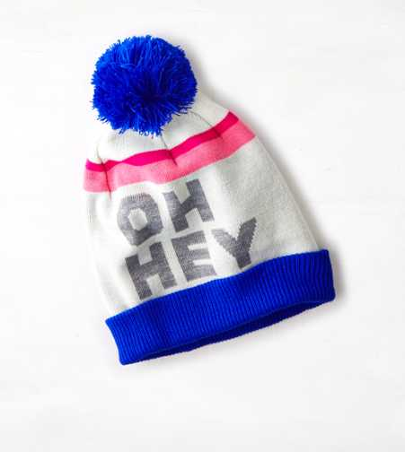 AEO Colorblocked Intarsia Hat - Buy One Get One 50% Off