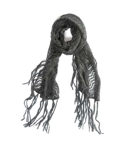 AEO Pointelle Knit Scarf