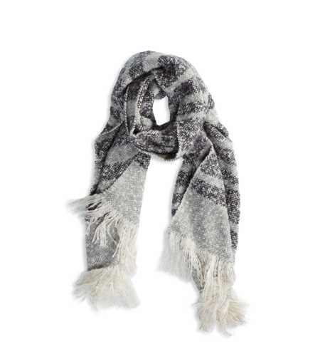 AEO Cozy Striped Scarf