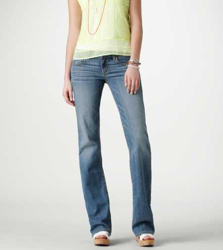 Favorite Boyfriend Jean - BRIGHT MEDIUM INDIGO- SUPER STRETCH