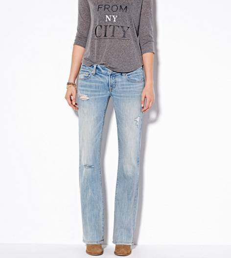 Light Destroy Wash Favorite Boyfriend Jean