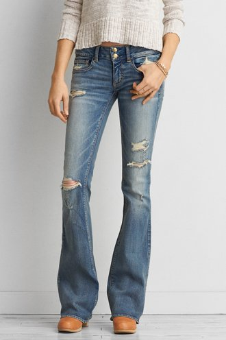 AEO Denim X Artist® Flare Jean  - Buy One Get One 50% Off