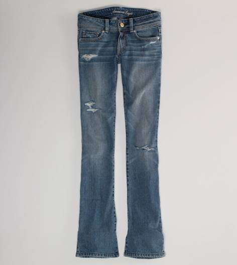 Light Destroy Vintage Original Boot Jean