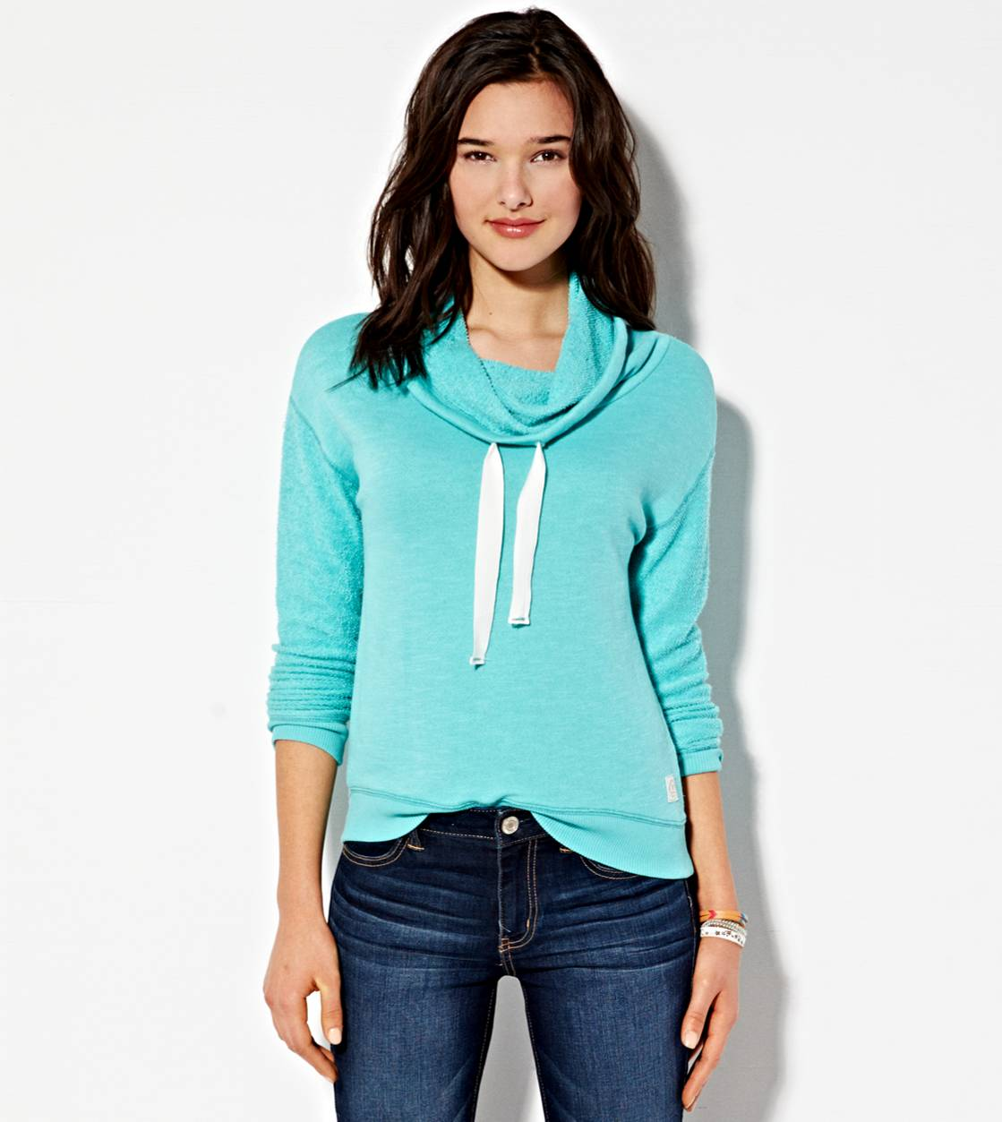 Tidal Foam AE Funnel Neck Sweatshirt