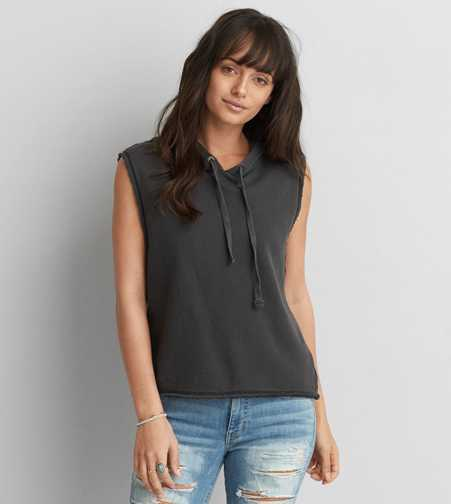 AEO Hooded Muscle T-Shirt