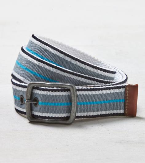 Grey AEO Reversible Belt