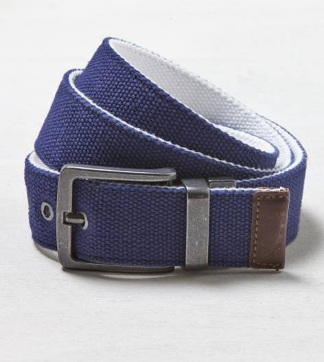 Indigo AEO Canvas Belt