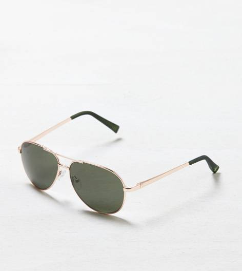 Rose Gold AEO Aviator Sunglasses