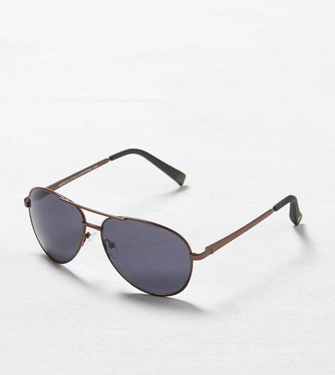 Bronze AEO Aviator Sunglasses