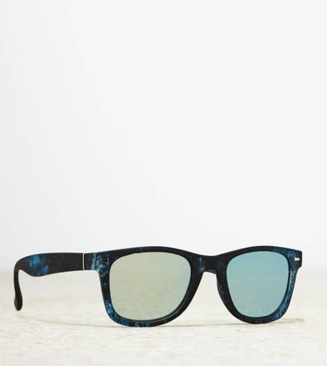Blue AEO Printed Icon Sunglasses