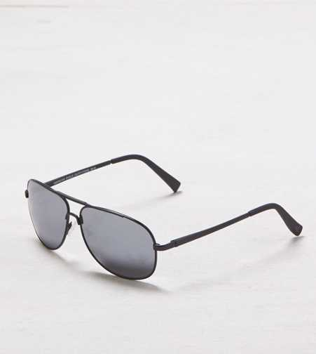 AEO Black Aviator Sunglasses - Buy One Get One 50% Off